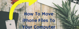 Move iphone video to Mac